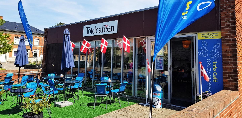 Den nye INFO CAFÈ er åbnet i ToldcaféenINFO CAFÈ OPLEV GEDSER